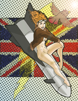 Bombshell Beatrix - Britain by sKeTcH-cRaZy
