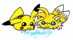 .:Request:.Tail Pikachu crossover by MrsSoniku63