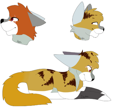 Reference Sheet by SnowflightXToxicstar