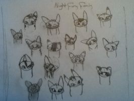 Night fury family pic by Crystalizedhero