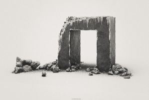 old Concrete by CrowInHand