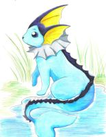 Vaporeon by Rinkulover4ever50592
