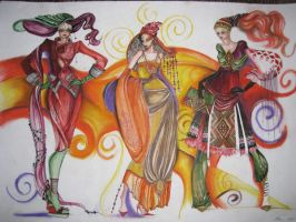 composition 20's by TimeaElisa