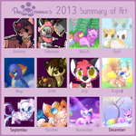 :My summary of art 2013: by PrePAWSterous