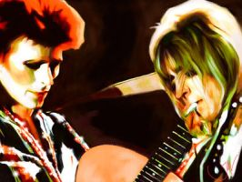 #10 BOWIE AND RONNO by JALpix
