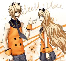 Vocaloid: SeeU and Usee by Mizashi
