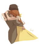Heartbreaking farewell by lucyelva