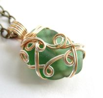 ...Emerald City... Necklace by sojourncuriosities