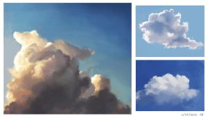 Cloud studies by skybrush