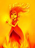 Flame Princess by KawaiiHachidori