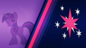 Twilight Sparkle CM Wallpaper by Bardiel83