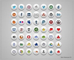 Simple Social Icons by slayerD1