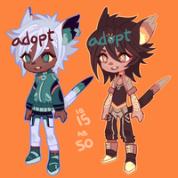 Adopts: cats cats (closed) by mowtei