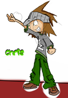WTN-Chris Character Design by Zito-is-Neato