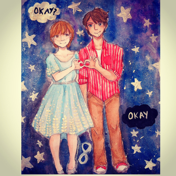 Our little infinity by Mina-Nyan