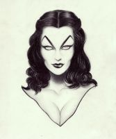 HALLOWOMEN Vampira by OriginalNick