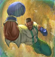 Dudley Street fighter by deffectx