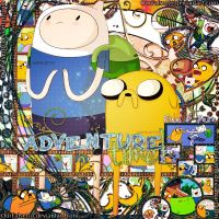 Adventure Time with Finn and Jake. by ourfalsetto