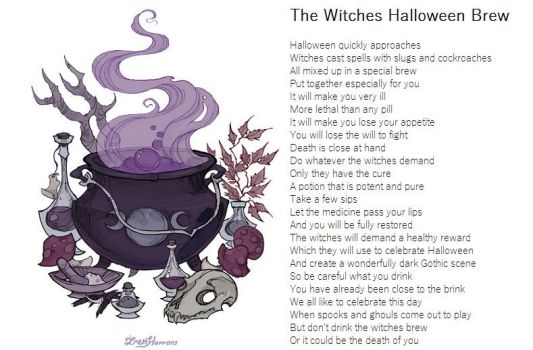 The Witches Halloween Brew by demonrobber