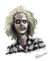 Beetlejuice by AliceParkes