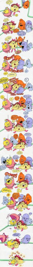 Pepper_and_pac_baby_chomped_by_clyde__sue__dinky_by_chomp_a_lot-d8jypjt