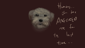 LISTEN HUMANS by dragonicwolf