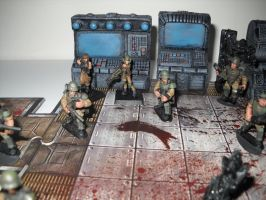 Colonial Marines Aliens miniatures 2 by Prowlcop
