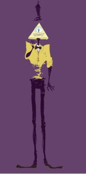 Bill Ciphers long legs by Dompap