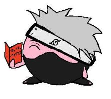 Kirby as kakashi by porvoras