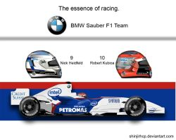 Bmw Sauber F1.07 by ShinjiRHCP