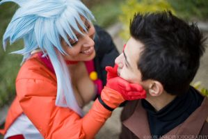 Tenchi Muyo - Tenchi Smoosh by shadowhearts
