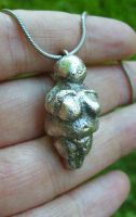 Tarnished Venus Willendorf by fairyfrog