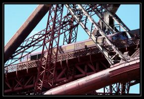 Freight on the Forth Bridge by Melee-pic