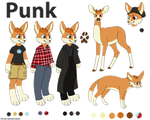 Punk Reference Sheet by Cartoon-Heart