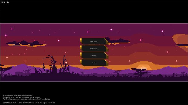 CamoTactics - Title Screen by hail-the-oblivious