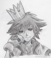 Sora KINGDOM HEARTS 1.5 HD Remix by pyreflyinglcie