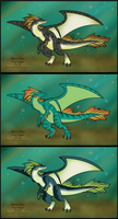 River Clan Adoptables by DragonsFlameMagic