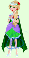 Ever After High Oc Gift: Evangeline Legacy Day by Kings-of-Queens
