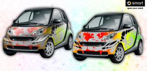 Smart Car - Wet Paint 1.0 by spatialchaos