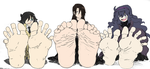''Goth'' girls soles by Murati2882 (colored) by totoofzefrance
