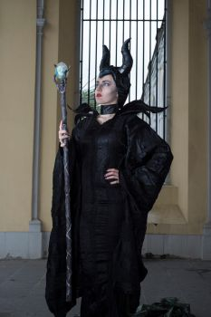 Maleficent5 by Valerie-Mrosek-Stock