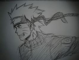 Naruto Sketch by Kayaba-Wolf