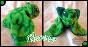Little Litters - Clover - Plush by Sparkle-And-Sunshine