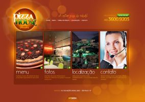 Pizza House - Website by LordVenomTLD