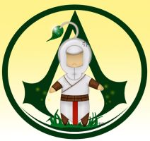 Chibi Altair like a Pikmin by Shinra-Creation