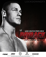 WWE Payback 2013 Pay-Per-View Poster by LockdownGFX