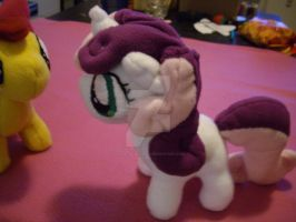 MLP FIM Plush: Sweetie Belle by Celestia-In-Love