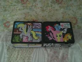 My MLP Lunch Boxes by DestinyDecade