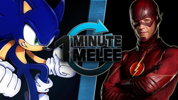 Sonic vs Flash discussion by Fu-reiji