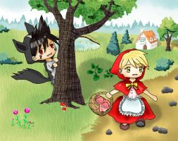 Role-playing Little Red Riding Hood by SpecialPikachu